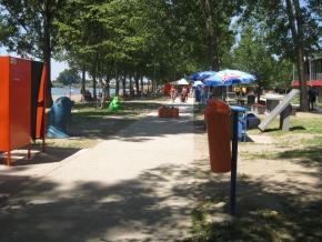 Mitrovačka plaža - uređenje 2014.