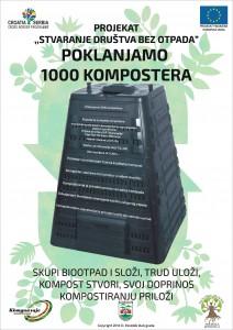 1.000 KOMPOSTERA NA POKLON GRAĐANIMA SREMSKE MITROVICE