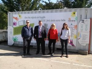 Upravljanje otpadom u Francuskoj-studijska poseta gradu Never projektnog tima JKP Komunalije Sr. Mitrovica
